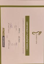 Certifikát funkční noha